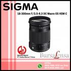 Sigma 18-300mm F/3.5-6.3 DC MACRO OS HSM C