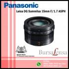 Panasonic Leica DG Summilux 15mm f/1.7 ASPH (H-X015E)