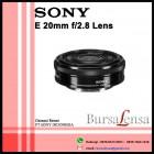 Sony E 20MM f/2.8 WIDE-ANGLE Lens