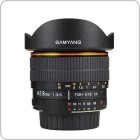 Samyang 8 mm f/3.5 Aspherical IF MC Fish-eye AE for Nikon
