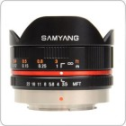 Samyang 7.5mm f/1:3.5 UMC Fish Eye MFT (Black)