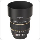 Samyang 85 mm f/1.4 IF MC Aspherical AE for Nikon