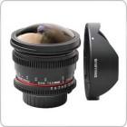 Samyang 8mm f/3.5 UMC Fisheye CS II For Canon (Hood Detachable)