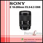 SONY E 18-200 F/3.5-6.3 OSS LE