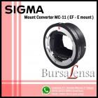 Sigma MC-11 Mount Converter (Canon EF - Sony E Mount)