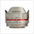 Samyang 7.5mm f/3.5 UMC Fish Eye MFT (Silver)