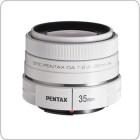 Pentax 35mm f/2.4 DA AL (White)